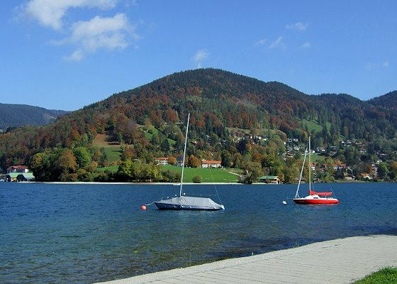 Sailing at the Tegernsee